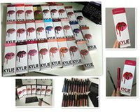 Последние 30 цветов KYLIE JENNER LIP KIT обычная 28 х валентина над пяткой Kylie Lipliner Жидкая матовая губная помада Красный блеск для губ DHL