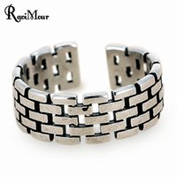 2017 Vintage Silver Accessories Punk Rings For Women Men Jew...