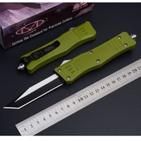 Factory direct Microtech A161 green troodon camping survival...