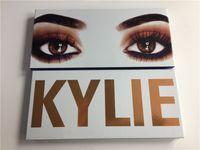 Sombreador de ojos barato del xoxo de Kylie del precio los colores reales de la gama de colores 12 del melocotón con el artículo caliente del cepillo de DHL