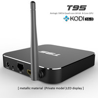 T95 Box Kodi16. 0 Quad Core Android Tv Box Amlogic S905X Wifi...
