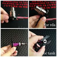 Multifonctions Vaper Twizer V2 Emballage Coiler Ajustement Fil Spanner Coil Jig Outil Ecig Clamp pour DIY RDA Atomiseurs Vape Vapeur Tweezer DHL