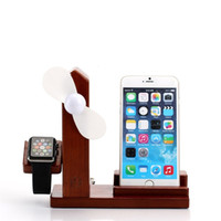 Apple Watch Stand iPhone Nouveau 2 en 1 Bambou Apple Watch Stand de charge et Charing Stand pour Apple Watch iPhone 5/6 / 6s / 6s / 7/7 Plus
