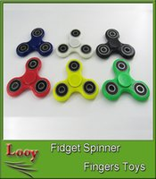 Hand Spinner Fingertips Spirale Fingers Fidget Spinner EDC Hand Spinner Acrylique Plastic Fidgets Jouets Gyro Toys With Retail Box