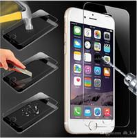 Protecteur d'écran en verre trempé clair pour Apple iPhone 6 6S 2.5D film protecteur mince Protecteur d'écran de 4,7 pouces