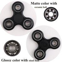 Los hilanderos de la mano de Fidget con la bola de cerámica pueden girar 3 Mins El hilandero de Fidget de la alta calidad con la caja al por menor 8 colorea