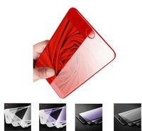 Red Screen Protector For iphone 7 Plus 9H Tempered Glass Scr...
