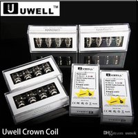 newest Uwell Crown Coil Replacement Dual Coils 0. 25 0. 5 Sub ...