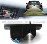 2в1 ЖК внедорожник автомобиля обратный парковочный радар заднего вида 120¡ã Широкий угол зрения камеры Kit Auto камера заднего вида MYY