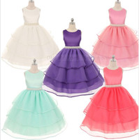 Kids Bridesmaid Wedding Dresses Girls Pageant Party Dresses ...