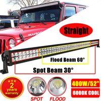 400W 52 inch Car LED Work Light Bar Truck Ute SUV JEEP ATV O...