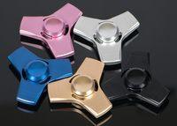 Aluminum Anti- Anxiety 360 Tri Fidget Hand Spinner Triangle L...