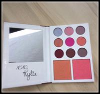 2017 maquillage Kylie's Diary Édition Limitée Palette Kylie Cosmetics Jenner 9 Couleur ombre à paupières + 2 Couleur blush set