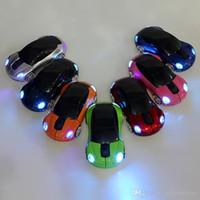 Wireless Car Mice Mouse Mini Led Optical Mice 2. 4Ghz 1600DPI...