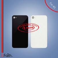 Vente en gros - Pour iPhone 4 GSM CDMA 4S verre remplacement de remplacement Livraison gratuite
