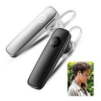 M165 Écouteur intra-auriculaire sans fil Écouteur portable Écouteur Bluetooth Écouteur mains libres avec boîtier micro en voiture pour téléphone