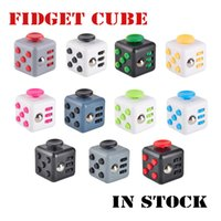 11 colors New wholesale novelty Fidget Cube stress relief to...
