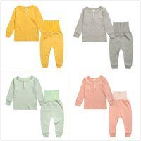 Spring Autumn Baby Toddler 100% Cotton Long Sleepwear T- Shir...