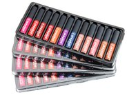 Las últimas PC de Popfeel Lipgloss 12 fijaron con 12 colores Lápiz labial cosméticos del maquillaje del lápiz labial de POPFEEL Lipgloss