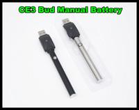 CBD v2 Bud Vaporisateur stylo de fumer batterie avec chargeur USB bouton manuel batterie 280mah écran tactile CE3 stylo vapor vaporisateur stylo vaporisateur