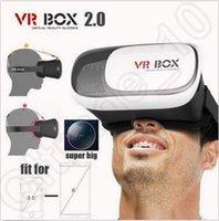 VR Box 2.0 versión realidad virtual gafas 3D VR Box Headset para Smartphone 3,5-6 pulgadas de cartón CCA5342 30pcs
