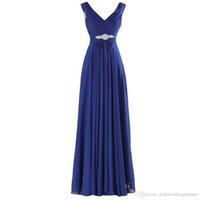 Royal Blue Bridesmaid Dresses Long 2017 New Design Elegant C...