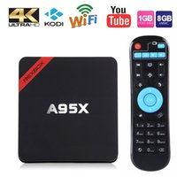 A95X TV BOX Amlogic S905X Smart Android TV 4K Media Player A...