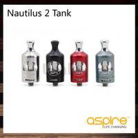 Aspire Nautilus 2 Tank 2ml Haut Atomiseur de contrôle de flux d'air de pointe avec 0.7ohm 1.8ohm Nautilus BVC Bobine 100% Original