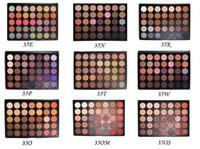 Hot 35colors ombre à paupières 35 ombre à paupières de couleur Ombre à paupières matte naturelle 35O, 35A, 35B, 35C, 35D, 35W, 35T, 35P, 35F, 35T, 35OM 11 couleurs