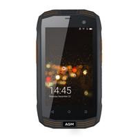 Original AGM A2 Rio 4.0 4G LTE Celular IP68 impermeable Teléfono móvil Android 5.1 MSM8909 Quad Core 2G + 16G SOS NFC Smartphone