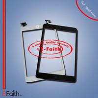 Pour iPad Mini Touch Screen Digitizer remplacement avec IC bouton d'accueil sans adhésion DHL Shipping