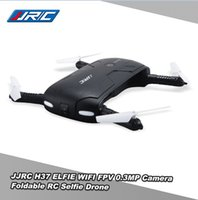 Оригинал JJRC H37 6-Axis гироскоп Elfie WIFI FPV 720P HD камера RC Quadcopter Складная G-сенсор RC селфи Дрон RM7429