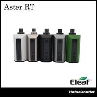 Authentique Eleaf Aster RT avec Melo RT 22 Kit 100W TC Mod 4400mah Batterie 3.8ml Melo RT 22 Fonction de préchauffage du réservoir
