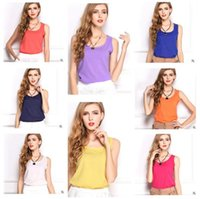 Women Shirt Fashion Summer Vest Explosion Models Camisole Bo...
