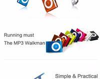 Fashion Mini Metal MP3 Player USB Clip LCD Screen Support 8G...