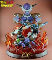 Оптово МОДЕЛЬ ВЕНТИЛЯТОРЫ MRC Dragon Ball Z 48см Frieza и Gi'nyu Special Forces GK смола фигурку игрушка для коллекции