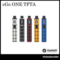 Authentique Joyetech eGo ONE TFTA avec 2300mAh eGo ONE TFTA Battery 0.6ohm ProCL Head 2ml Tank Atomizer