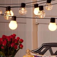 4. 8m 6m Solar Lamps 5cm 20 LED Balls Christmas Fairy Lights ...