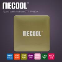 Smart TV Amlogic S905X Android 6. 0 Set Top Box Mecool HM8 1G...