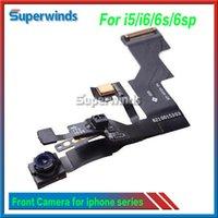 Capteur de lumière de proximité Capteur de lumière Câble de remplacement Flex pour iPhone 5 5s 5c 6 6 Plus 6S 6S plus 4.7 '' 5.5 '' Free DHL