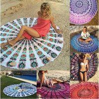 Mandala de toalla de playa de mandala toalla de hippy Boho Toalla de toalla bohemia cubierta de toalla de playa indio abrigo de picnic de yoga CCA5653 10pcs