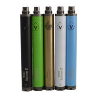 Cigarette électronique Vision Spinner 2 1650mAh Ego twist 3.3-4.8V vision spinner II batterie de tension variable en stock