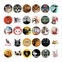Free shipping cat snap button jewelry charm popper for brace...
