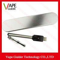 Ceramic Coil glass cartridge Kit CBD glass Vaporizer bud bat...