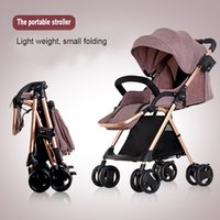 High Landscape Foldable Baby Stroller Ultralight Luxury Baby...