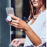 PopSockets Sans logo Support de support extensible Support de téléphone cellulaire Support de support de colle 3G Socket Pop 3M pour Iphone 7 Plus