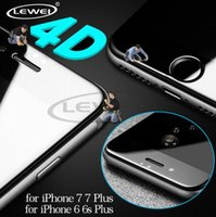 4D (2nd Gen 3D) Curved Edge Round Full Cover Tempered Glass ...