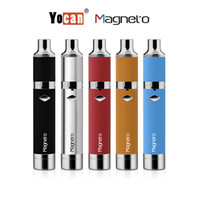 Yocan Magneto Wax Pen Kits E Cigarette Kits Avec Magneto Connection Dab Outil 1100mAh Batterie vs Yocan Evolve Plus Yocan Ruche