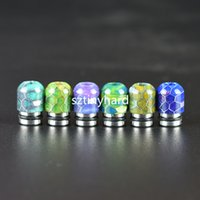 2017 Newest VAPJOY Resin Drip Tip 510 Honeycomb Style for Sm...
