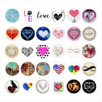 Free shipping LOVE snap button jewelry charm popper for brac...